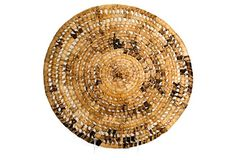 Handwoven by artisans in Africa using natural banana fibers, this set of chargers will give your table an elevated, worldly appeal. Dinnerware, Decorative Bowls, Hand Weaving, Tropical, Rugs, Tabletop, Kings Lane, Dining, Home Decor