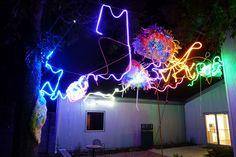 DZine Trip | Primordial Garden: Outdoor Art Installation at Art League Houston by Artist Adela Andea | http://dzinetrip.com