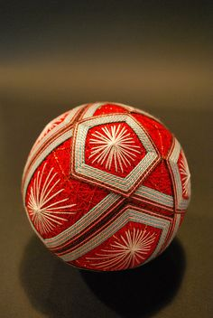 Japanese traditional handmade ball, Temari