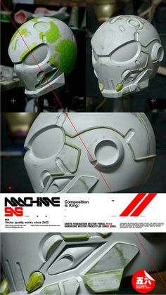 Bone Head project - W.I.P 1.2 by *machine56 on deviantART