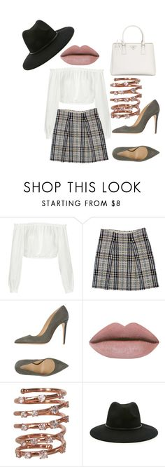 """""""Oldies"""" by sammi-mo ❤ liked on Polyvore featuring Elizabeth and James, Burberry, Armani Collezioni, Plukka, Forever 21 and Prada"""