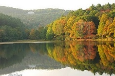 Bass Lake - Blowing Rock, North Carolina.