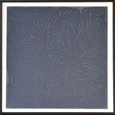 Sol LeWitt, Irregular Grid, 2000, gouache on paper, 77,5 x 77,5 cm. Courtesy Konrad Fischer Galerie.