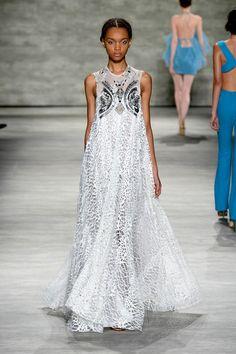 Stella Nolasco - Runway - Mercedes-Benz Fashion Week Spring 2015 - Pictures - Zimbio