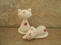 Polymer clay snowmen ornaments an idea for gumpaste! | Mandi - Picmia
