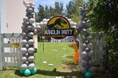Jurrasic Party Birthday Party Ideas | Photo 6 of 27 | Catch My Party