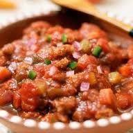 hCG Diet Recipes - hCG Diet Beanless Chili
