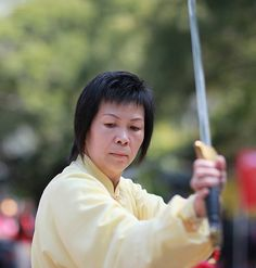 Tai Chi sword performance in Kowloon Park     here at the premiere Fredericksburg martial arts school at http://www.shaolinkungfucenter.com