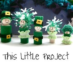 St Patrick's Day Crafts from The Crafty Cow!