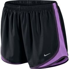 Nike's Tempo short. Love the pop of purple on black. Other colors available too!