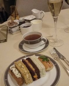 Afternoon tea delights at the opulent Palm Court @Langham_London You know you want it   #foodporn by msfoodblogger