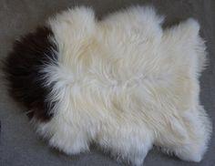 GIANT SHEEPSKIN Iceland White Throw Genuine by TrendingSlippers, $64.99