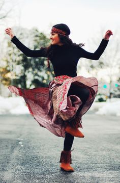 Dancing is good for the soul!