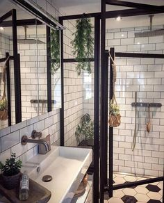 helpful ideas for a bright bathroom - we love home decor - . helpful ideas for a bright bathroom - We Love Home Decor - # for # Needs # a # farm house # fixer # flair # with Bad S. Home Interior, Bathroom Interior, Modern Bathroom, Small Bathroom, Interior Design, Bathroom Ideas, Master Bathroom, Washroom, Bathroom Plants