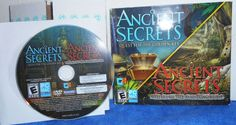 PC/MAC ANCIENT SECRETS Quest for Golden Key & Vanishing Bride 2 Games Rated E #Encore