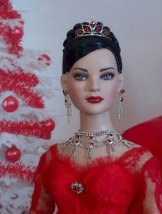 Ruby Christmas: Ruby in during Christmas #dollduels #beauties ^kv