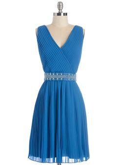 Glitz and Grandeur Dress in Aquamarine #modcloth #ad *pretty