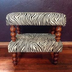 Most wanted stool. Balance between form and function. Made to order. Hudson Furniture, Leather Design, Zebra Print, Vanity Bench, Bespoke, Furniture Design, Stool, Classic, Prints