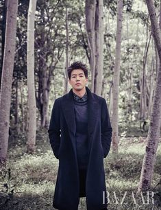 Lee Sang Yoon For January Harper's Bazaar