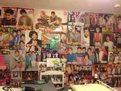 So @Donna Dennis Womack (mom) you've been asking me how I want to redecorate my room, here's how! hahahahahahaa JK
