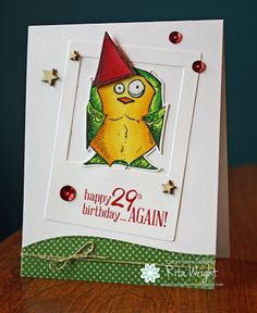 Happy 29th by kyann22 - Cards and Paper Crafts at Splitcoaststampers