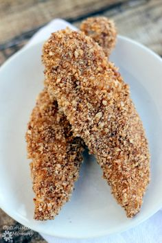This Spicy pecan crusted chicken tender recipe is a definite hit any day of the week. They have a great texture, flavor, and just the right amount of heat.