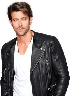Who can deny Hrithik Roshan's scrumptiousness? Not us. Leather - tick! Bollywood moves - tick, tick!