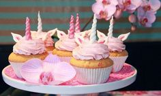 Einhorn-Cupcakes  Rezept | Dr. Oetker
