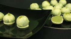 Шоколадные трюфели с зелёным чаем матча