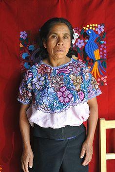 Maya Woman, Chiapas, Mexico