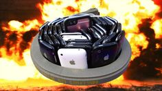 Can $30000 Worth of iPhones Protect an iPhone 6s from Explosive Laser-Cutting Tape? #news #alternativenews