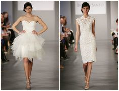 47 Short Wedding Dresses from Spring 2014 Bridal Market - Bajan Wed : Bajan Wed