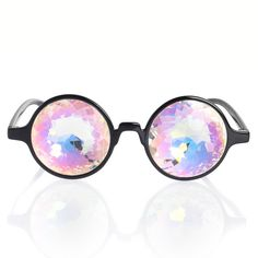 Kaleidoscopic Glasses - I'm thinking these would make me motion sick - do they come with dramamine??