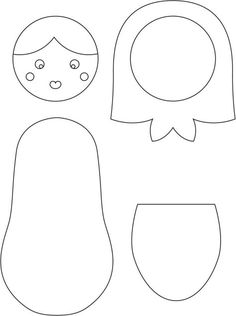 How to Make a Russian Doll #sewing #russiandoll #children