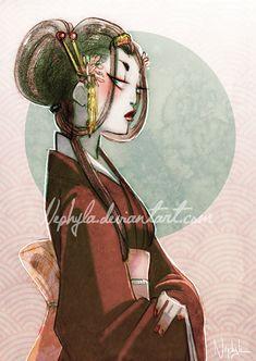 +PORTRAIT+ Kohaku by *Nephyla on deviantART