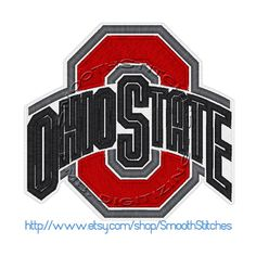 Photo of Ohio State Buckeyes Football Design for Embroidery Machines $6