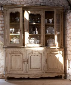 French Country Buffet and Hutch