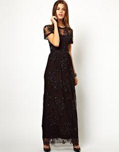Needle & Thread Dainty Tulle Maxi Dress