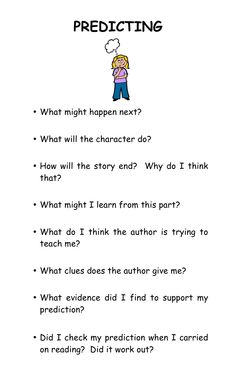 Reading Strategy:  Predicting