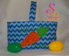 Custom Easter basket made by Shana's Boutique