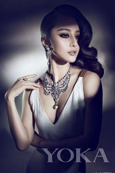 Fan Bingbing shooting Cartier Jewelry