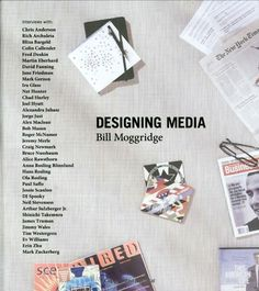 Designing Media by #BillMoggridge, #IDEO (Read entire book online) #BooksThatInspire #AuthorsThatInspire #HighlyRecommendedRead #AmongMyFavs #DesigningMedia #DesigningInteractions #computing