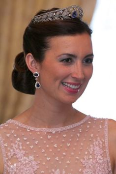 Princess Glaire, wife of Prince Felix -- Gala - 2016 Luxembourg National Day Celebrations
