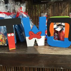 Custom themed letters make a great party decoration and the perfect photo prop! Mickey Clubhouse @an_afternoon_in_paris