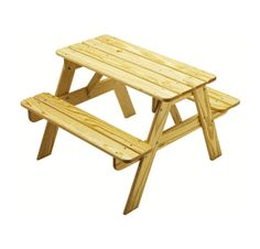 (LC144) Solid Pine Picnic Table