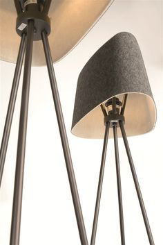 Tom Dixon Felt Shade Tripod