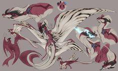 Vahaerys by ImpalersShrine Monster Concept Art, Fantasy Monster, Monster Art, Mythical Creatures Art, Magical Creatures, Fantasy Creatures, Creature Concept Art, Creature Design, Arte Zombie