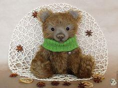 Купить Авторский коллекционный мишка Тедди - серый волк, мария стригун, мишки Тедди купить