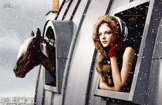 Hermes winter ad campaign