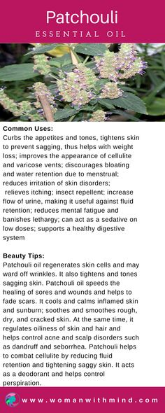 Patchouli Essential Oil Guide & Application #essentialoils #diybeauty #PatchouliEssentialOilsrecipes